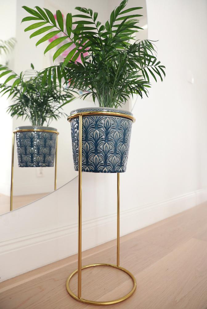 stojak na podłogę, kwietnik pod rośliny, kwietnik galwanizowany, kwietnik odporny na zarysowania