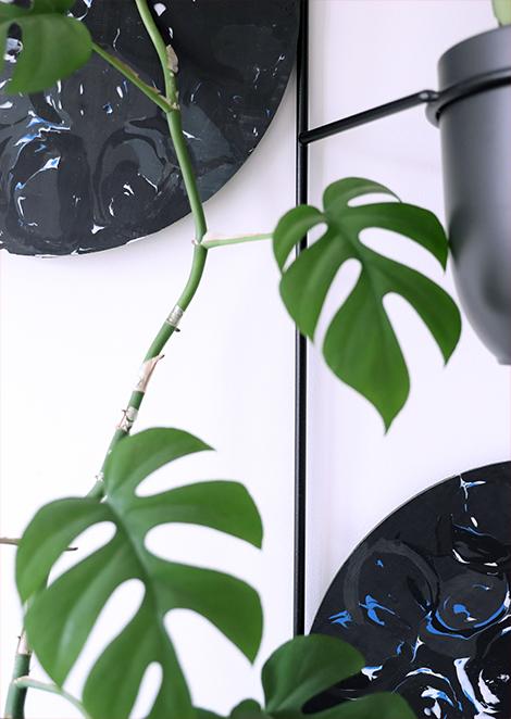 kwietnik na ścianę, metalowy kwietnik, oryginalny kwietnik na ścianę