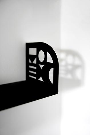 prosta półka, unikalna półka, półka odporna, półka z metalu
